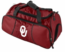 Oklahoma Sooners Athletic Duffel Bag
