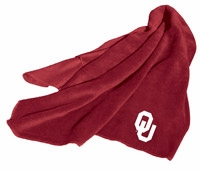 Oklahoma Sooners Fleece Throw