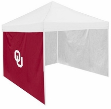 Oklahoma Sooners Garnet Side Panel for Logo Tents