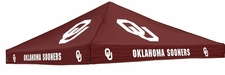 Oklahoma Sooners Red Logo Tent Replacement Canopy