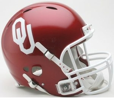 Oklahoma Sooners Riddell Revolution Authentic Helmet