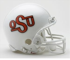 Oklahoma State Cowboys 1984-92 Throwback Replica Mini Helmet