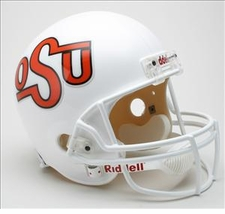 Oklahoma State Cowboys 1984-92 Throwback Riddell Deluxe Replica Helmet