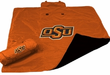Oklahoma State Cowboys All Weather Blanket
