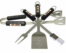 Oklahoma State Cowboys Grill BBQ Utensil Set