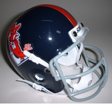 Ole Miss (Mississippi) Rebels 1970 Schutt Throwback Mini Helmet