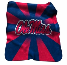 Ole Miss (Mississippi) Rebels Raschel Throw
