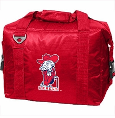 Ole Miss (Mississippi) Rebels Red 12 Pack Small Cooler