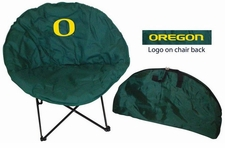 Oregon Ducks Round Sphere Chair