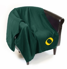 Oregon Ducks Sweatshirt Throw Blanket