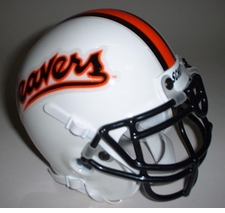 Oregon State Beavers 1993 Schutt Throwback Mini Helmet