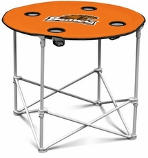 Oregon State Beavers Round Tailgate Table