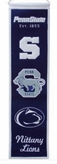Penn State Nittany Lions Wool 8x32 Heritage Banner