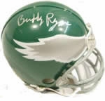 Philadelphia Eagles Autographed Football Gear
