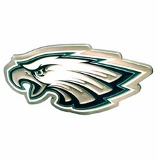 Philadelphia Eagles Logo Trailer Hitch Cover