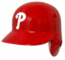Philadelphia Phillies Left Flap Rawlings Authentic Batting Helmet