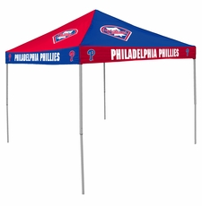 Philadelphia Phillies Red / Blue Checkerboard Canopy Tailgate Tent