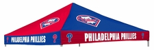 Philadelphia Phillies Red / Blue Logo Tailgate Tent Replacement Canopy Top