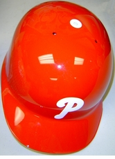 Philadelphia Phillies Red Right Flap Rawlings Authentic Batting Helmet
