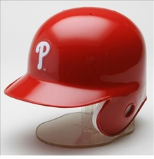 Philadelphia Phillies Riddell Mini Baseball Batting Helmet