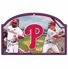 Philadelphia Phillies Wood Sign - Players Design