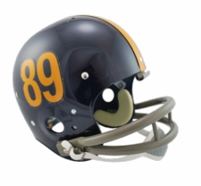 Pittsburgh Panthers 1960 Riddell NCAA TK 2-Bar Suspension Throwback Full Size Helmet