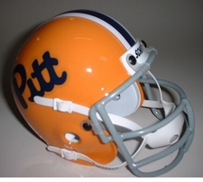 Pittsburgh Panthers 1976 Schutt Throwback Mini Helmet