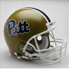 Pittsburgh Panthers 1993-96 Throwback Riddell Full Size Authentic Helmet