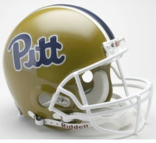 Pittsburgh Panthers 1997-2004 Throwback Riddell Full Size Authentic Helmet