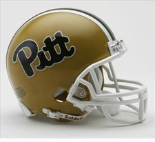 Pittsburgh Panthers Throwback Replica Mini Helmet