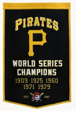 Pittsburgh Pirates 24x36 Wool Dynasty Banner