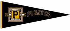 Pittsburgh Pirates Cooperstown Wool Pennant