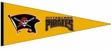 Pittsburgh Pirates Traditions Wool Pennant
