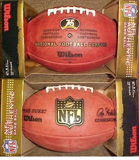 Pittsburgh Steelers 75th Anniversary Wilson Official NFL Game Football