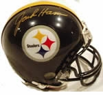 Pittsburgh Steelers Autographed Football Gear