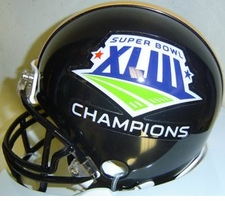Pittsburgh Steelers Super Bowl 43 XLIII Champions Replica Black Mini Helmet