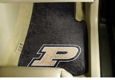 Purdue Boilermakers 2-Piece Carpeted Car Mats Front Set