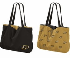 Purdue Boilermakers Reversible Tote Bag