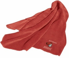 Rutgers Scarlet Knights Fleece Throw (Red)