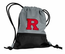 Rutgers Scarlet Knights Gray String Pack / Backpack