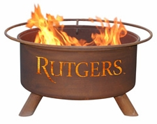 Rutgers Scarlet Knights Outdoor Fire Pit