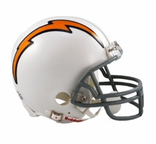 San Diego Chargers 1961-73 Throwback Replica Mini Helmet
