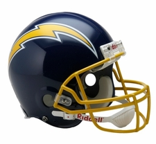 San Diego Chargers 1974-87 Throwback Riddell Pro Line Helmet
