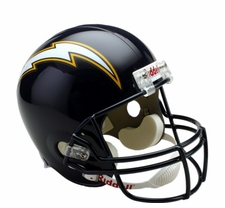 San Diego Chargers 1988-2006 Throwback Riddell Deluxe Replica Helmet