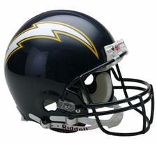 San Diego Chargers 1988-2006 Throwback Riddell Pro Line Helmet