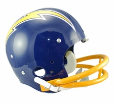 San Diego Chargers Classic TK 1974-87 Throwback Riddell Replica Helmet