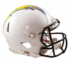 San Diego Chargers Revolution Speed Riddell Authentic Helmet