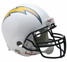San Diego Chargers Riddell Full Size Authentic Helmet