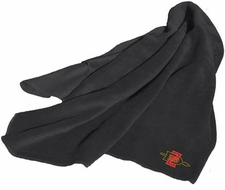 San Diego State Aztecs Black Fleece Throw