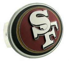 San Francisco 49ers Logo Trailer Hitch Cover